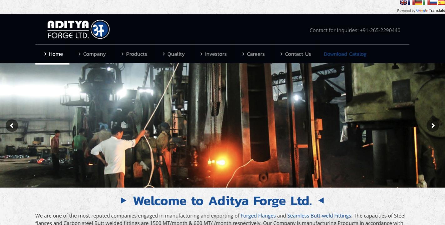 Aditya Forge